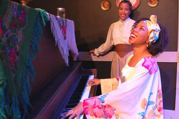Mayme at Piano