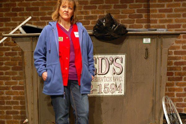 jan at dumpster